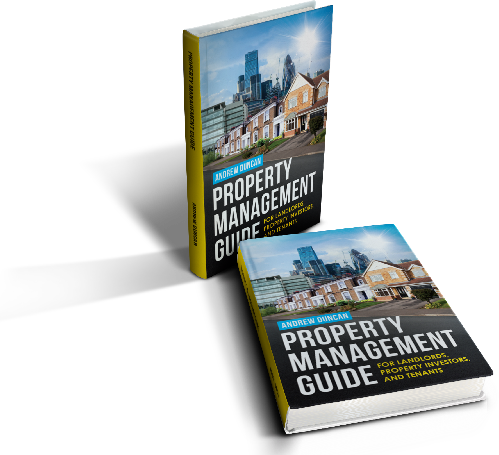 property management guide 3D logo x2 white small